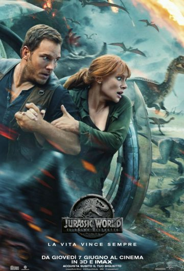 Jurassic World: Il Regno distrutto locandina