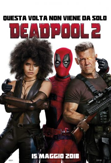 Deadpool 2 locandina
