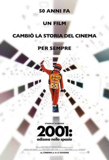 2001: Odissea nello spazio locandina