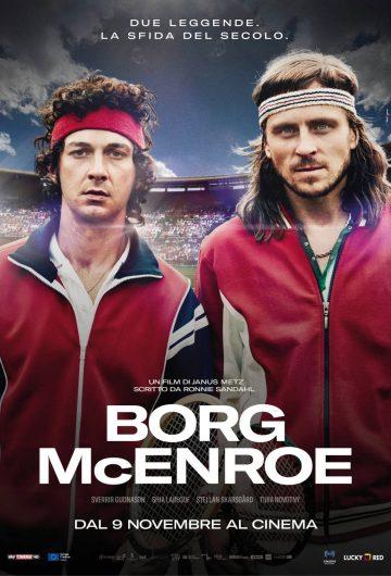 Borg McEnroe locandina