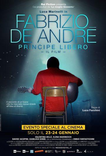 Fabrizio De Andrè – Principe Libero locandina