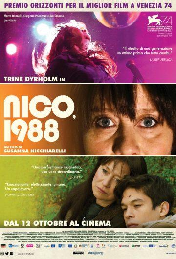 Nico, 1988 (evento di chiusura) locandina