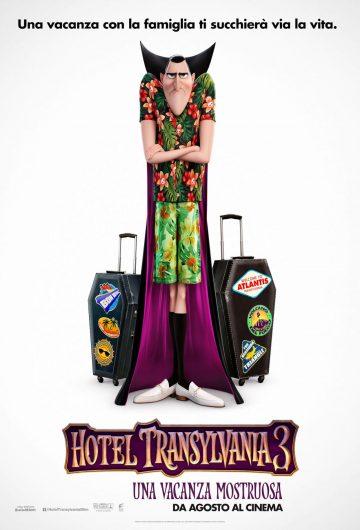 Hotel Transylvania 3 – Una vacanza mostruosa locandina