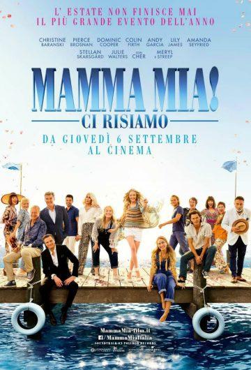 Mamma Mia! Ci risiamo locandina