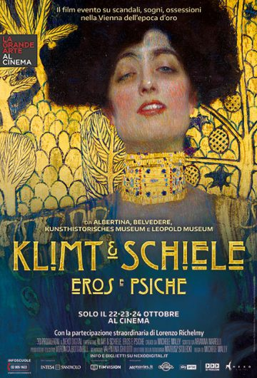 Klimt & Schiele. Eros e psiche locandina