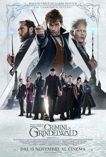 Animali Fantastici 2: I Crimini di Grindelwald locandina