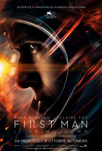 First Man – Il primo uomo locandina