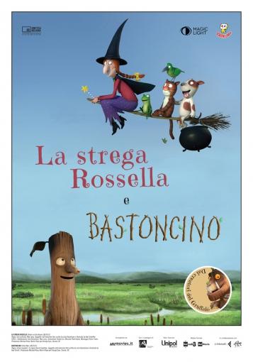 LA STREGA ROSSELLA E BASTONCINO locandina