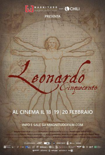 Leonardo Cinquecento locandina