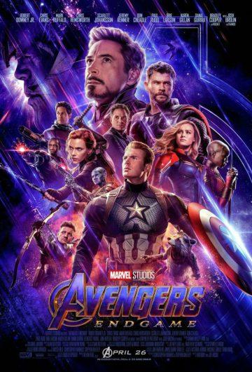 Avengers: Endgame locandina