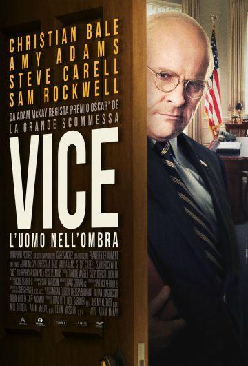 Vice – L'uomo nell'ombra locandina