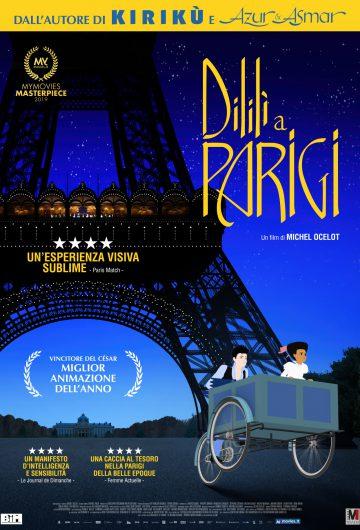 Dilili a Parigi locandina