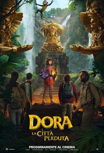 Dora e la città perduta locandina