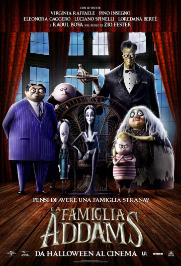 La Famiglia Addams locandina