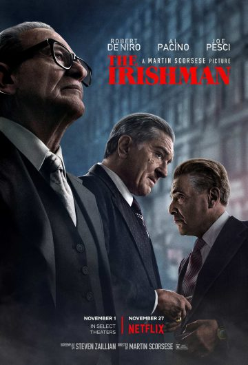 The Irishman locandina