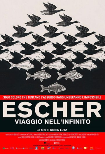 ESCHER – VIAGGIO NELL'INFINITO locandina