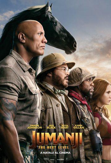 Jumanji: The Next Level locandina