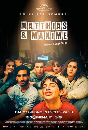 Matthias & Maxime locandina