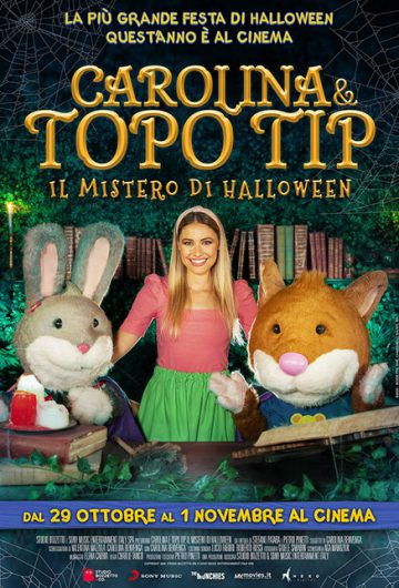 CAROLINA E TOPO TIP – IL MISTERO DI HALLOWEEN locandina