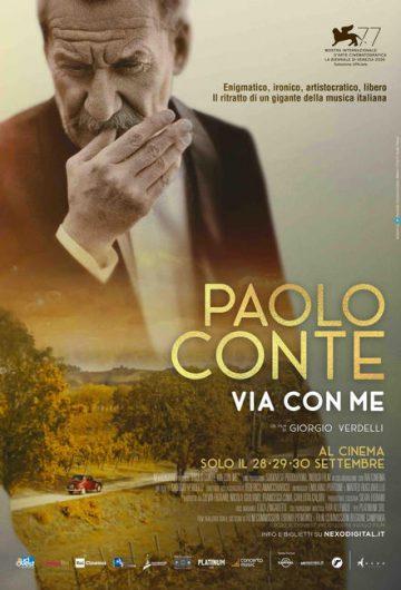 Paolo Conte, Via con me locandina
