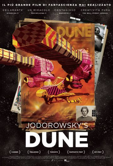 Jodorowsky's Dune locandina